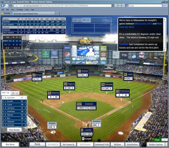 Miller Park Night screen shot