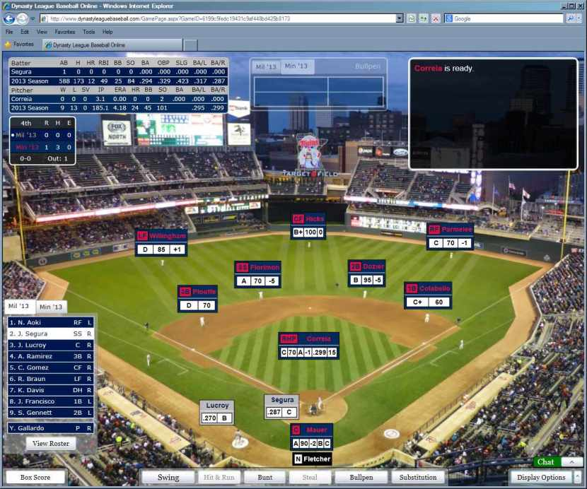 Target Field Night screen shot